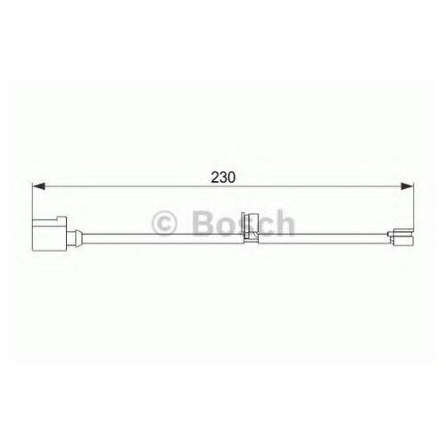 Датчик износа тормозных колодок задний Bosch 1987474569 для Porsche Cayenne, Porsche Panamera