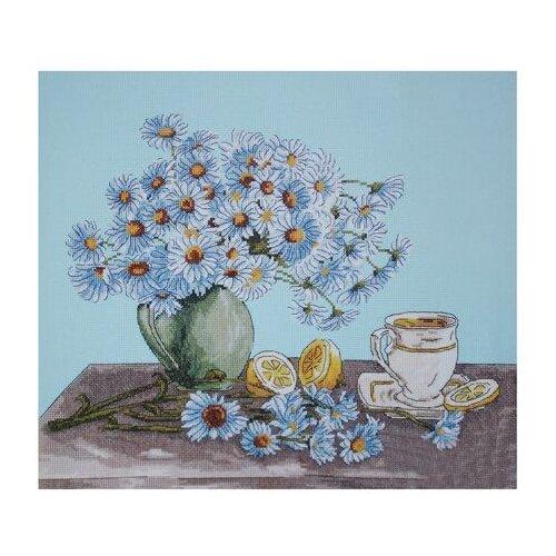 Купить Hobby & Pro Набор для вышивания Ромашковый чай 40 х 30 см (794), Наборы для вышивания