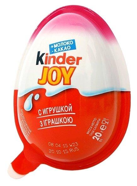 Шоколадное яйцо Kinder Joy с игрушкой, серия Winx, 24 г