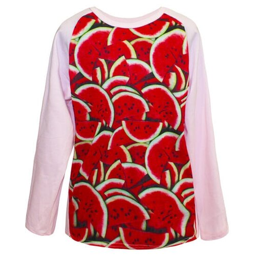Купить Лонгслив KotMarKot размер 152, розовый, Футболки и майки