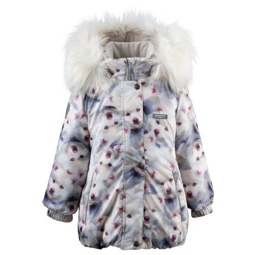 Купить Куртка KERRY Emmy K19431 размер 122, 5060 белый, Куртки и пуховики