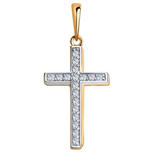 Diamant Подвеска из золота с фианитами 51-130-00375-1