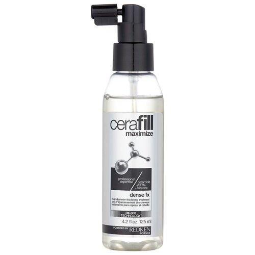 Redken Cerafill Maximize Спрей для увеличения диаметра и плотности волос, 125 мл ампулы двойного действия против потери волос с аминексил и omega 6 cerafill maximize 10х6 мл
