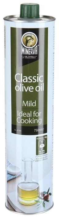 MINERVA Масло оливковое Classic, жестяная банка