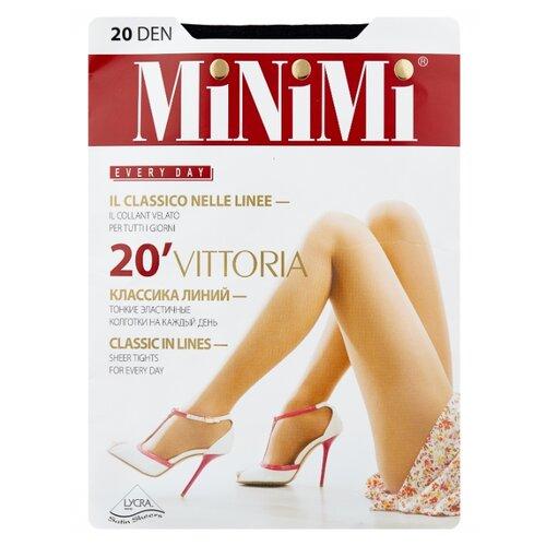 Колготки MiNiMi Vittoria 20 den, размер 5-XL, nero (черный) колготки minimi vittoria 20 den размер 5 xl cappuccino коричневый