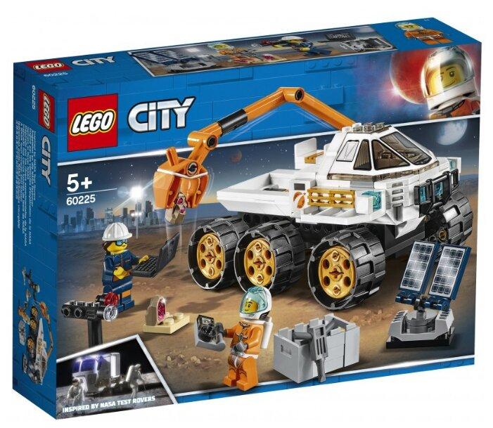 Конструктор LEGO City 60225 Тест драйв вездехода