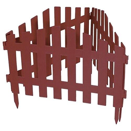 Забор декоративный PALISAD Марокко, терракот, 3 х 0.28 м забор декоративный винтаж 28 х 300 см терракот россия palisad
