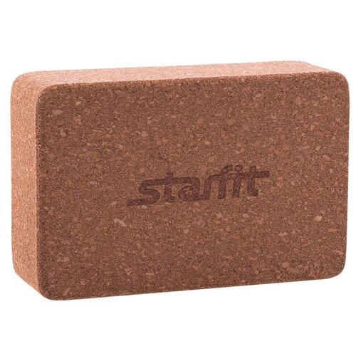 Блок для йоги Starfit FA-102 коричневый