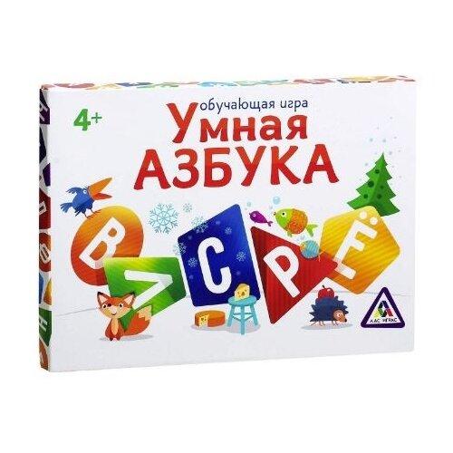 Купить Настольная игра Лас Играс Умная азбука, Настольные игры
