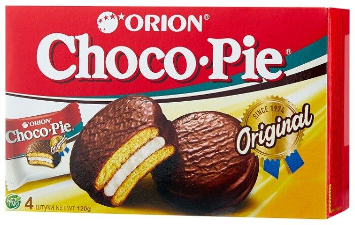 Пирожное Orion Choco Pie 120 г