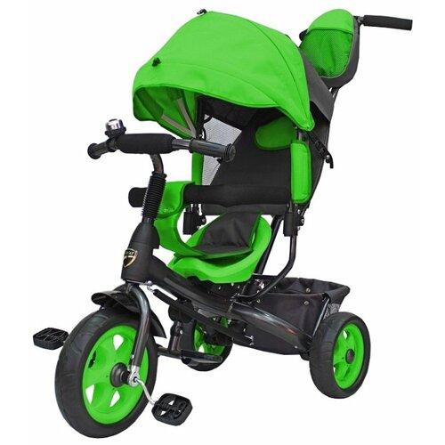 Купить Трехколесный велосипед Galaxy Лучик Vivat зеленый, Трехколесные велосипеды