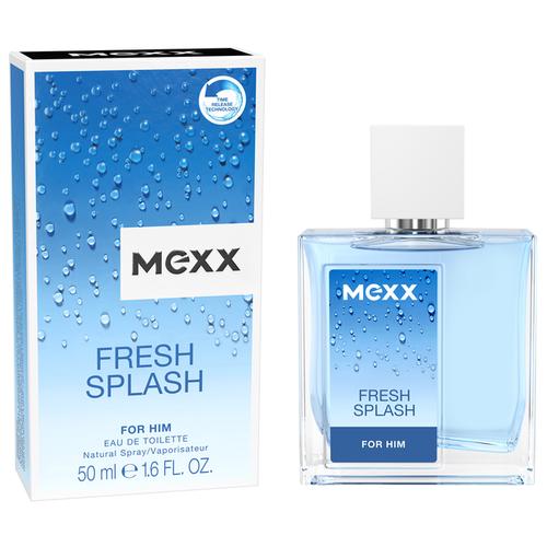 Туалетная вода MEXX Fresh Splash for him, 50 мл mexx life is now for him туалетная вода 50мл