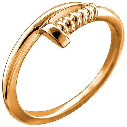 Эстет Кольцо из красного золота 01К0113069, размер 18