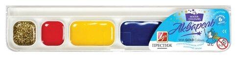 Луч Краски акварельные Престиж 6 цветов, медовые, без кисти (18С 1230-08)