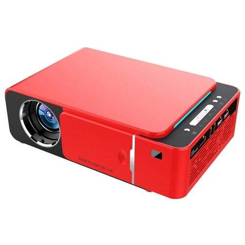 Проектор Everycom T6 Sync красный  - купить со скидкой