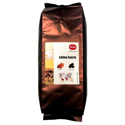 Кофе в зернах Nivona Latina Fuerte, арабика, 1000 г трубки для забора молока nivona nima 330