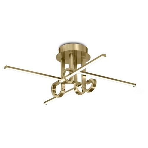 Потолочный светильник Mantra Cinto 6128, 28 Вт, цвет арматуры: бронзовый недорого