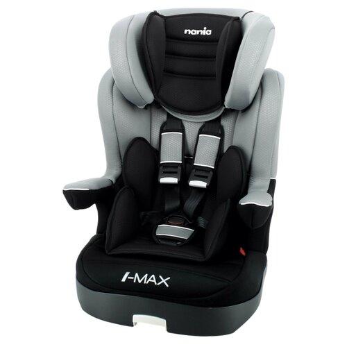 Автокресло группа 1/2/3 (9-36 кг) Nania I-Max SP Luxe, grey автокресло группа 1 2 3 9 36 кг little car ally с перфорацией черный