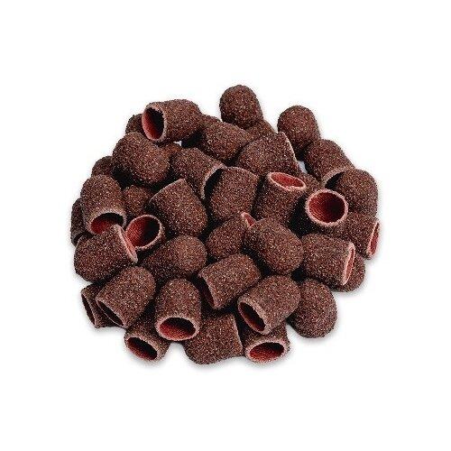 Колпачок Muhle Manikure шлифовальный супергрубый 13 мм, 60 грит, 12000 об/мин, 100 шт., коричневый muhle manikure колпачок шлифовальный 13 мм тонкий 100 шт
