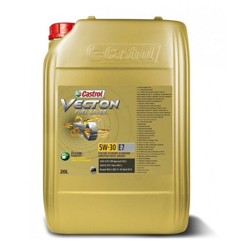 цена на Моторное масло Castrol Vecton Fuel Saver 5W-30 E7 20 л