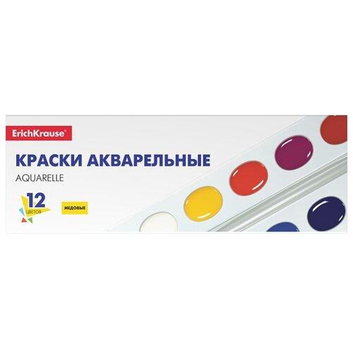 Купить ErichKrause Акварельные краски медовые 12 цветов (50586), Краски