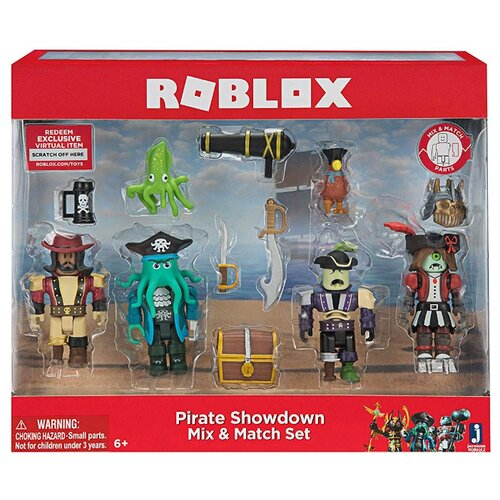 Фото - Набор фигурок Roblox: Pirate Showdown Mix & Match Set набор фигурок roblox fashion famous