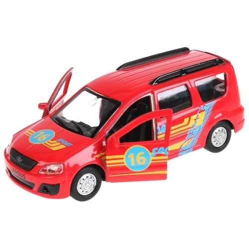 цена Гоночная машина ТЕХНОПАРК Lada Largus Спорт (SB-16-47-S-WB) 1:37 12 см красный онлайн в 2017 году