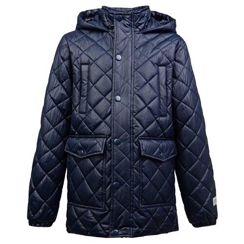Куртка playToday Classic 2020 22011074 размер 128, темно-синий куртка playtoday 393022 размер 128 темно синий