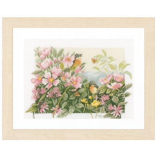 Купить Lanarte Набор для вышивания Birds & roses (Птицы и розы) 37 х 25 см (PN-0157494), Наборы для вышивания