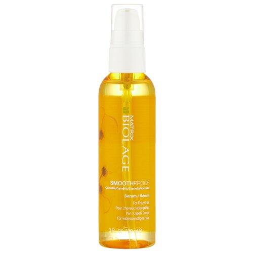 Фото - Biolage Сыворотка для непослушных волос Smoothproof, 89 мл несмываемая сыворотка для гладкости волос с термозащитой biolage smoothproof serum 89мл