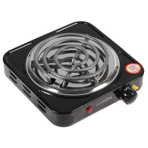 Электрическая плита Luazon LHP-001 черный (3928827)
