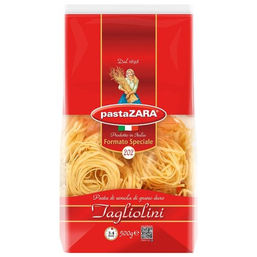 Pasta Zara Макароны Formato Speciali 202 Tagliolini, 500 г zara larsson zara larsson so good 2 lp
