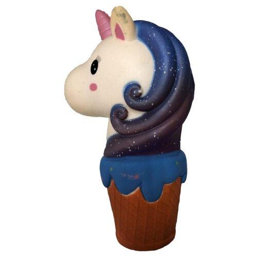 Игрушка-мялка 1 TOY Мммняшка Squishy Единорог Т15862 синий/белый