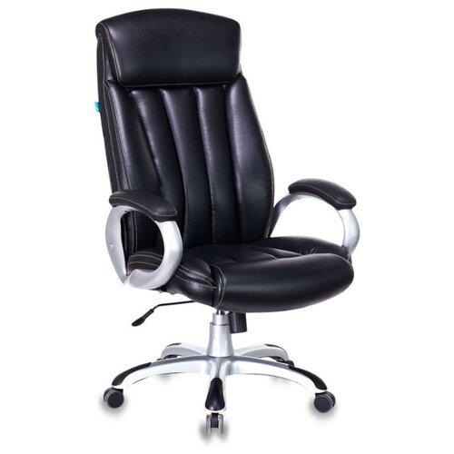 Кресло для руководителя Бюрократ Бюрократ T-9922PU, обивка: искусственная кожа, цвет: искус. кожа (black)
