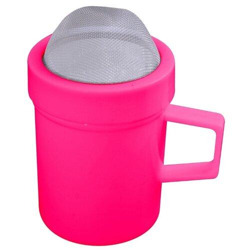 Мультидом Кружка-сито для сахарной крупы и какао (DA11-39) розовый сито мультидом 76 5