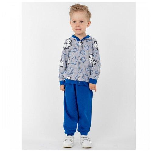 Купить Комплект одежды Юлала размер 64, серый/синий, Комплекты и форма