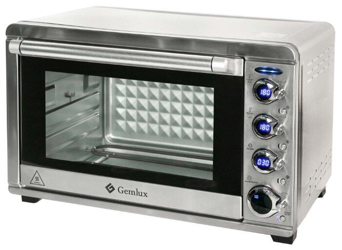Мини-печь Gemlux GL-OR-2045LUX — купить по выгодной цене на Яндекс.Маркете