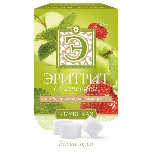 Фруктовое счастье сахарозаменитель эритрит со стевией кубики 250 г