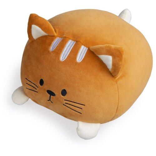 Подушка диванная Kitty коричневая