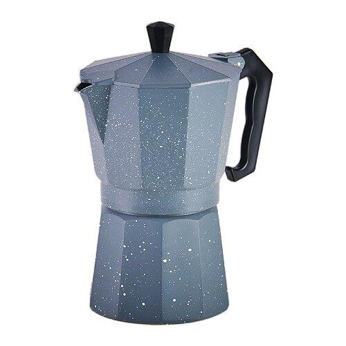 Гейзерная кофеварка MAYER & BOCH 29691 (300 мл), серый
