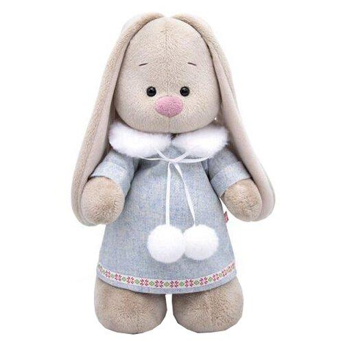Фото - Мягкая игрушка Зайка Ми в трикотажном платье 32 см мягкая игрушка зайка ми в лиловом 23 см