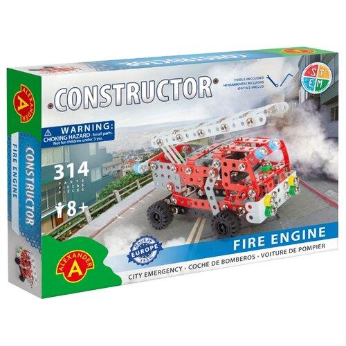 Купить Винтовой конструктор Alexander 1656 Пожарная машина (городские службы), Конструкторы