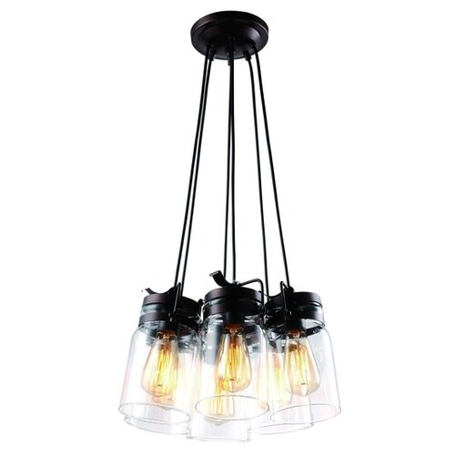 Люстра Arte Lamp Bene A9179SP-6CK, E27, 360 Вт бра arte lamp bene a9179ap 1ck