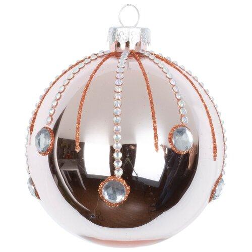Набор шаров KARLSBACH 09000, розовый/серебряный