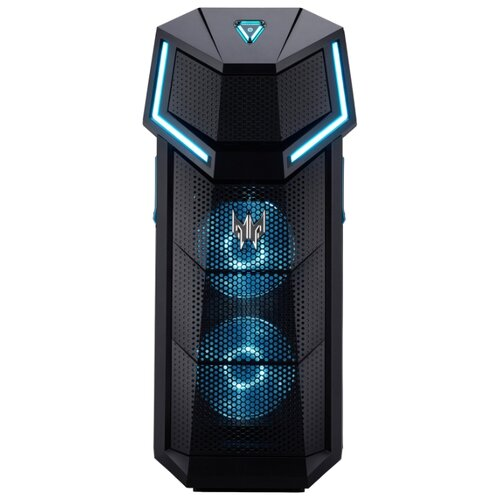 фото Игровой компьютер acer predator orion 5000 (dg.e1yer.004) midi-tower/intel core i9-10900k/64 гб/1 тб ssd+3 тб hdd/nvidia geforce rtx 2080 ti/windows 10 home черный