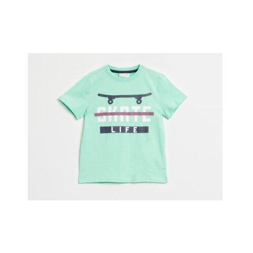 Футболка COCCODRILLO размер 116, аквамарин футболка coccodrillo размер 116 аквамарин