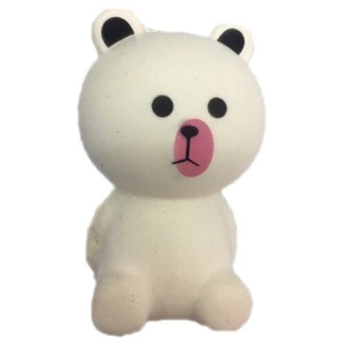 Игрушка-мялка 1 TOY Мммняшка Squishy Белый медвежонок белый