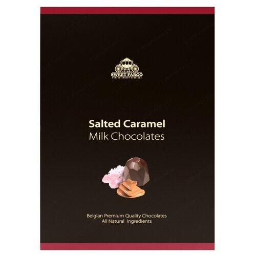 Набор конфет Sweet Fargo Розовая гималайская карамель в молочном шоколаде 100 г черный