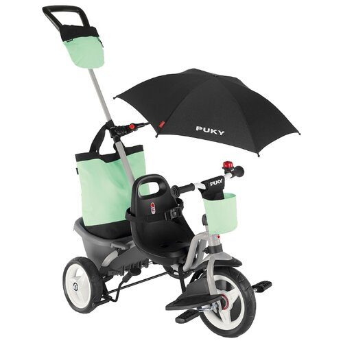 Купить Трехколесный велосипед Puky Ceety Comfort (2020), grey/mint, Трехколесные велосипеды