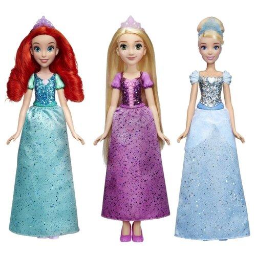 hasbro кукла одри светлые герои в платьях для коронации наследники disney Кукла Hasbro Disney Princess 28 см, E4020